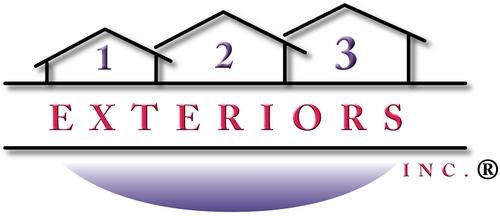 123 Exteriors logo
