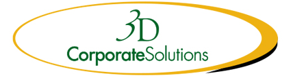 3D Corporate Solutions logo