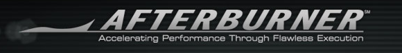 Afterburner logo