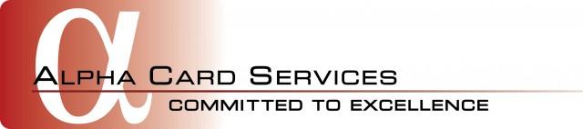 Alpha Card Services logo