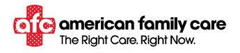 American Family Care logo