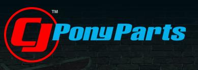 CJ Pony Parts logo