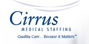 Cirrus Medical Staffing logo