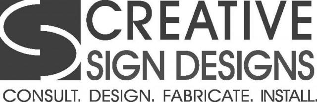 Creative Sign Designs logo