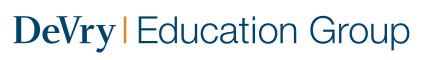 DeVry Education Group Inc. logo