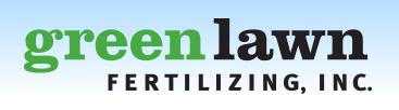 Green Lawn Fertilizing logo