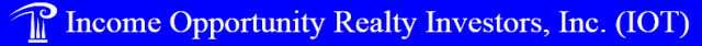 Income Opportunity Realty Investors, Inc. logo