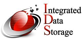 Integrated Data Storage logo