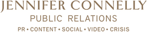 Jennifer Connelly Public Relations (JCPR) logo