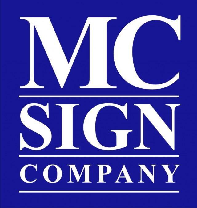 MC Sign Company logo