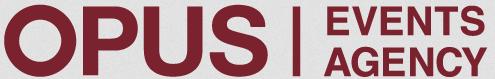 Opus Events Agency logo