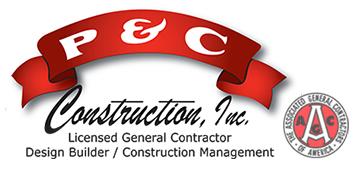 P&C Construction logo