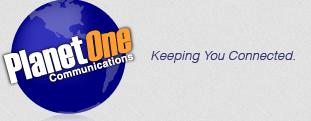 PlanetOne Communications logo