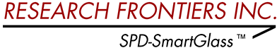 Research Frontiers Incorporated logo