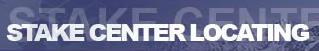 Stake Center Locating logo