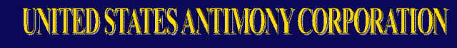 United States Antimony Corporation logo