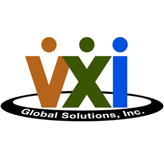 VXI Global Solutions logo