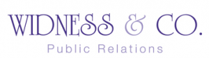 Widness & Company Public Relations